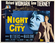 Posth Photos - Night And The City, Gene Tierney by Everett
