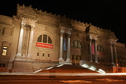 New York  The Metropolitan Museum Of Art Prints - Night at the Museum  Print by Matthew Breslow