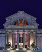 Hdr Photo Prints - Night at the Museum Print by Metro DC Photography