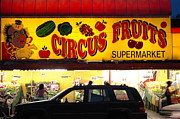 Food Store Photos - Night At The Supermarket by Mark Gilman