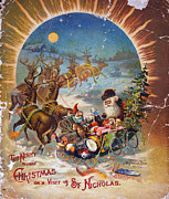 Clarke Posters - Night Before Christmas Poster by Granger