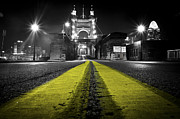 Selective Photo Prints - Night Bridge Print by Keith Allen