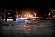 Night Cops Print by Kevin Flynn