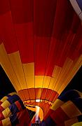 Hot Air Balloon Photos - Night Flight by Mike  Dawson
