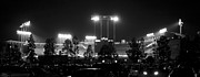 Baseball Art Print Photos - Night Game by Ricky Barnard