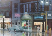 C Robert Follett - Night Life in the 1940s