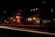 Prescott Prints - Night Life of the City Print by Austin Troya