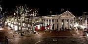Quincy Market Photos - Night Market by Greg Fortier
