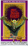 Horror Movies Framed Prints - Night Of The Blood Monster, Aka Il Framed Print by Everett