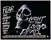 1960s Movies Posters - Night Of The Living Dead, 1968 Poster by Everett