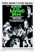 Living Dead Framed Prints - Night Of The Living Dead, Duane Jones Framed Print by Everett