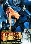 Spanish Poster Art Posters - Night Of The Werewolf, Aka Return Of Poster by Everett