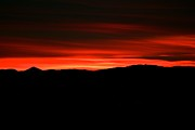 Sunset Greeting Cards Art - Night on Fire by Kevin Bone