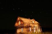 Night On The Douglas Lake Range 1 Print by Phil Dionne