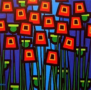 John  Nolan - Night Poppies