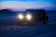 Jeeps Photos - Night Rider by John Greim