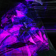 Wingsdomain Digital Art - Night Rider . Square . A120423.936.693 by Wingsdomain Art and Photography