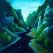 Angela Treat Lyon - Night River