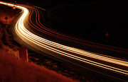 Colorado Art - Night Road by Copyright Crossland Photography 2009