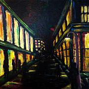 Nightime Paintings - Night Shades by Patti  Bean