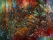 Splatter Paintings - Night Sky by Michael Lang