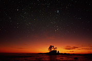 Auriga Prints - Night Sky & Sunset Print by David Nunuk
