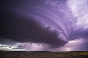 Jennifer Brindley - Night Supercell with...