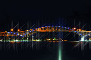 Cheryl Cencich - Night time Bridges
