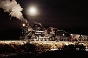 Consolidation Posters - Night Train Poster by Werner Rolli