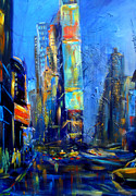Nataliya Gurshman - Night upon Times Square