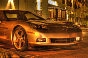 Night Scenes Photo Originals - Night Vette by Gordon Campbell