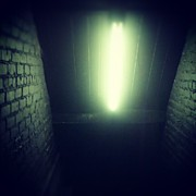 Photoport Art - #nightclub #stairway #light #instahub by Natalia D