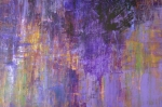 Abstract Expressionist Acrylic Prints - Nightfall Acrylic Print by Mark Becker