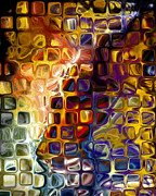 Ornamental Digital Art - Nightlife by Ann Croon