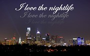Nightlife Print by Deborah  Crew-Johnson