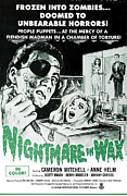 Nightmare Framed Prints - Nightmare In Wax, Cameron Mitchell Framed Print by Everett