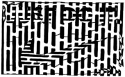 Yonatan Frimer Mixed Media Originals - Nike Maze by Yonatan Frimer Maze Artist