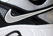 Nike Photo Prints - Nike Shoe Print by Malania Hammer