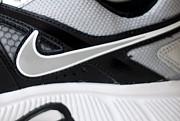 Nike Shoe Print by Malania Hammer