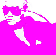 Sunglasses Digital Art - Niki Pink by Irina  March
