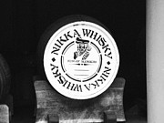 Red Buildings Prints - Nikka Whiskey Barrell Print by Irina  March