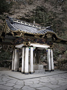 Japan Photo Framed Prints - Nikko Architecture Framed Print by Irina  March