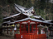 Samurai Photo Prints - Nikko Monastery Building Print by Irina  March