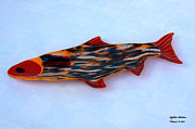 Fish Glass Art Originals - Nile by Isaac Richter