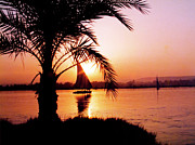 Desert Photos - Nile Sunset by Kurt Van Wagner