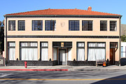 Niles District Prints - Niles California Banquet Hall . 7D12736 Print by Wingsdomain Art and Photography