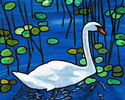 EJ Lefavour - Niles Pond Swan