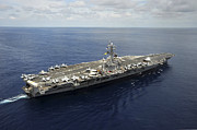 Eisenhower Photos - Nimitz-class Aircraft Carrier Uss by Stocktrek Images