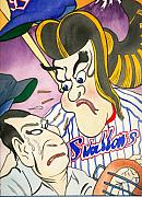 Yakult Swallows Posters - Nippon Baseball  Poster by Robert  Myers