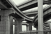 Kansai Photo Framed Prints - Nippon Super Expressway -- Kansai Japan Framed Print by Daniel Hagerman